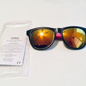 PINK Victoria's Secret Mirrored Sunglasses